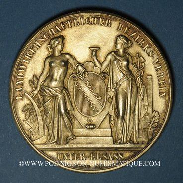 Monnaies alsace bas rhin comit r gional agricole 1877 - Comptoir agricole bas rhin ...