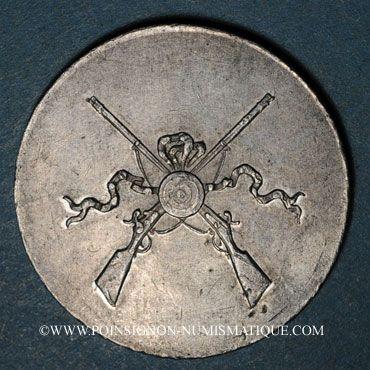 Monnaies Colmar. Société de tir de Colmar. Plomb. 26,8 mm