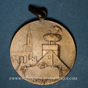 Monnaies L'Alsace occupée. 1870-1914. Bronze. 31,8 mm.