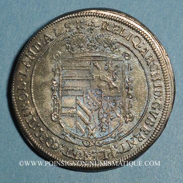Monnaies Landgraviat d'Alsace. Ensisheim. Léopold V, archiduc (1619-1632). Taler 1623