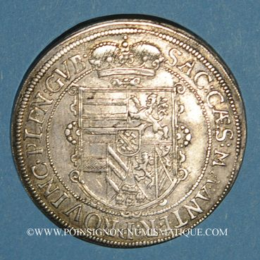 Monnaies Landgraviat d'Alsace. Ensisheim. Léopold V, archiduc (1619-1632). Taler 1628