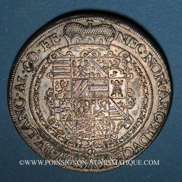 Monnaies Landgraviat d'Alsace. Ensisheim. Rodolphe II (1602-1612). Taler 1610