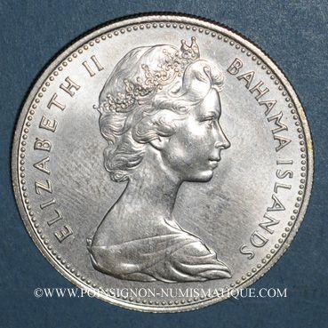 Monnaies Bahamas. 2 dollars 1969