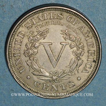 Monnaies Etats Unis. 5 cents 1901