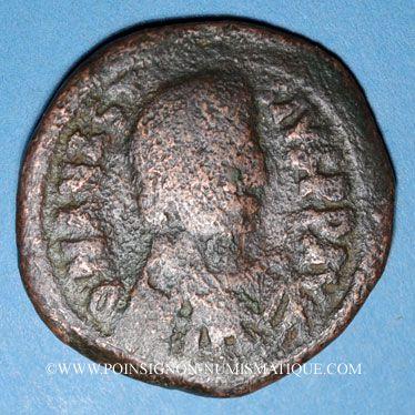 Monnaies Empire byzantin. Anastase (491-518). Follis. Constantinople, 5e officine, 498-518