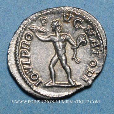 Monnaies Alexandre Sévère (222-235). Denier. Rome, 231-235. R/: Jupiter