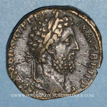 Monnaies Commode (177-182). Sesterce. Rome, 189. R/: la Fortune