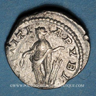 Monnaies Elagabale (218-222). Denier. Rome, 219. R/: la Joie