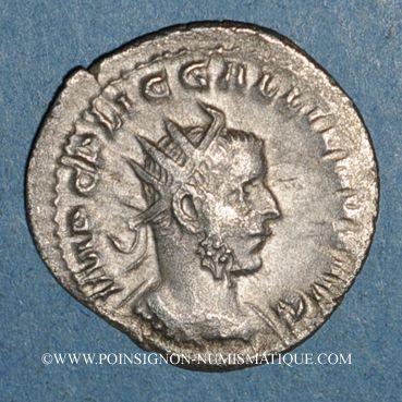 Monnaies Gallien (253-268). Antoninien. Rome, 253-255. R/: la Concorde