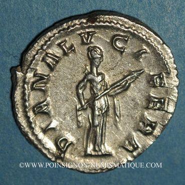 Monnaies Gordien III le Pieux (238-244). Denier. Rome, 241. R/: Diane