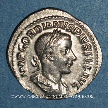 Monnaies Gordien III le Pieux (238-244). Denier. Rome, 241. R/: la Sécurité