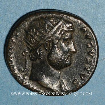 Monnaies Hadrien (117-138). Dupondius. Rome, 125-128. R/: l'Equité