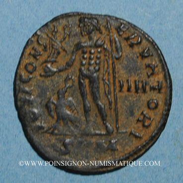 Monnaies Licinius I (308-324). Follis. Cyzique, 4e officine. 316-317. R/: Jupiter
