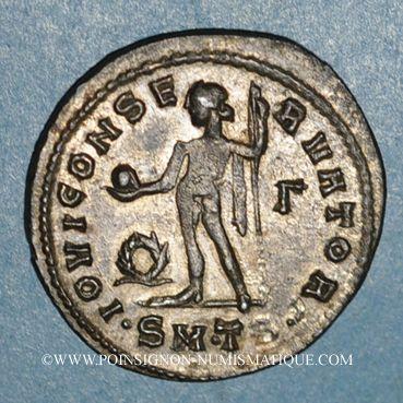 Monnaies Licinius I (308-324). Follis. Thessalonique, 3e officine, 312. R/: Jupiter