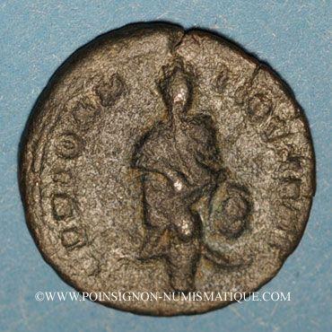 Monnaies Maximin II. Monnayage semi-autonome pour Antioche. 1/4 follis. Antioche 2e officine, 311-312