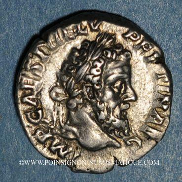 Monnaies Pertinax (janvier-mars 193). Denier. Rome, 193. R/: Pertinax voilé debout à gauche