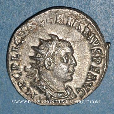 Monnaies Valérien I (253-260). Antoninien. Rome, 255-258. R/: la Félicité
