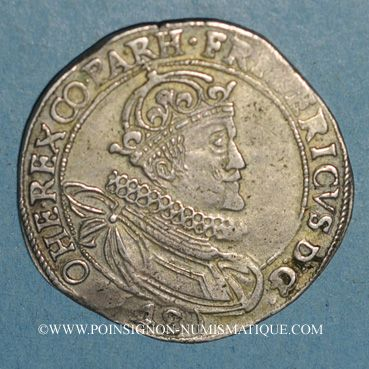 Monnaies Bohème. Frédéric V du Palatinat (1619-1620). 48 kreuzer 1620. Joachimsthal
