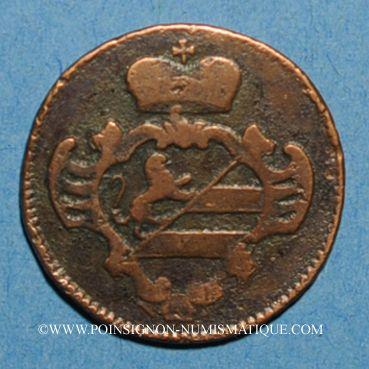 Monnaies Italie. Gorize. Joseph II (1780-1790). 1 soldo 1788K. Kremnitz