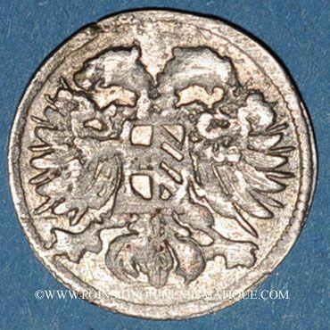 Monnaies Silésie. Léopold I (1657-1705). 3 pfennig 1693 Opole (Oppeln)