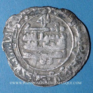 Monnaies Afghanistan. Samanides. Nasr II b. Ahmad (301-331H). Dirham (313H), Farwan