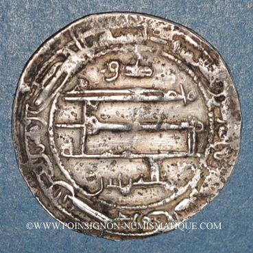 Monnaies Afghanistan. Tahirides. Tahir b. al-Husayn (205-207H). Dirham 206H, Herat, avec al-Shukr b. Ibrahim