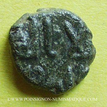 Monnaies Gouverneurs Umayyades d'Espagne. Fals anonyme 11 mm