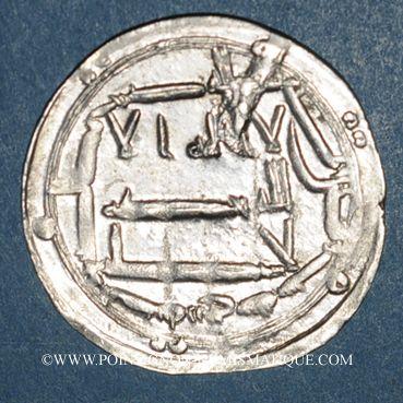 Monnaies Perse. Abbassides. Harun al-Rashid (170-193H). Dirham 1(8)6H. Madinat Zaranj