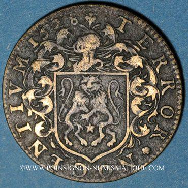 Monnaies Bourgogne. Mairie de Dijon. E. Humbert. Jeton cuivre 1628