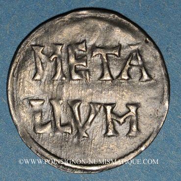 Monnaies Louis le Pieux (814-840). Denier. Melle