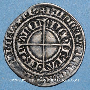 Monnaies Duché de Lorraine. Charles II (1390-1431). Gros. Nancy
