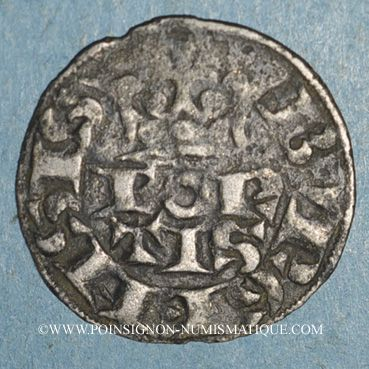 Monnaies Lorraine. Ferry IV (1312-1329) . Bourgeois fort imitation de Philippe IV
