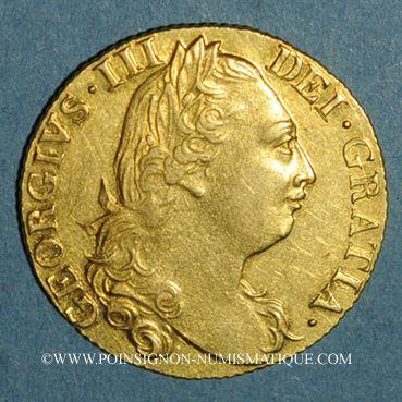 Monnaies Grande Bretagne. Georges III (1760-1820). Guinée 1777. (PTL 917‰. 8,35 g)