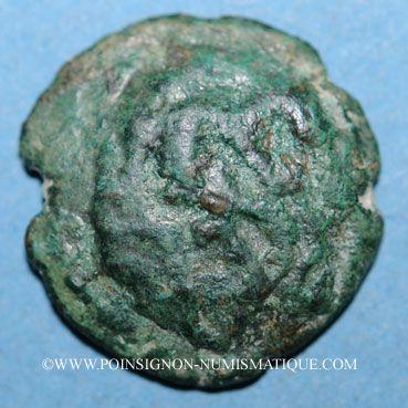 Monnaies Ambiani. Bronze aux deux animaux affrontés (2e moitié du 1er siècle av. J-C)