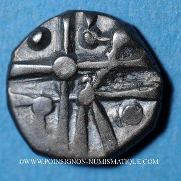 Monnaies Cadurques. Hémidrachme d'argent du type Cuzance