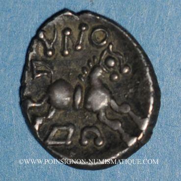 Monnaies Eduens. Bourgogne - Dovbno. Denier. Vers 60-54 av. J-C