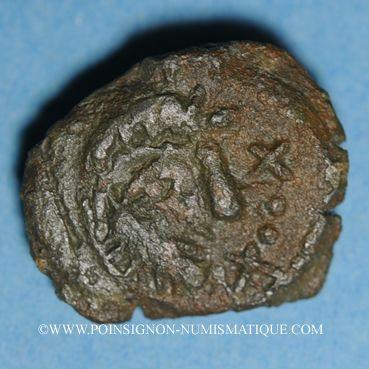 Monnaies Incertaines du Nord. Bronze à la galère, classe IV. Période Augustéenne. DT 701 cet exemplaire !