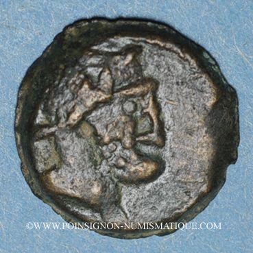 Monnaies Marseille (49-25 av. J-C). Petit bronze au caducée