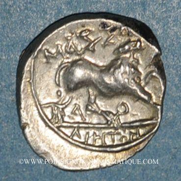 Monnaies Marseille. Drachme, 125-90 av. J-C
