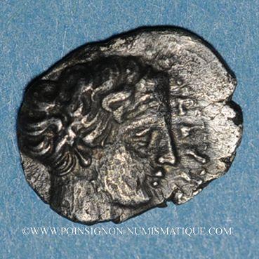 Monnaies Marseille. Hémibole à l'éthnique MASSALI, 425-400 av. J-C