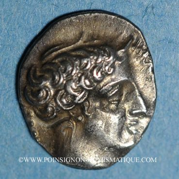 Monnaies Marseille. Obole à l'éthnique MASSALIOTAN, 410-380 av. J-C