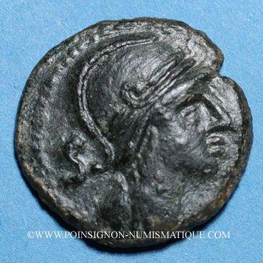 Monnaies Nemausus (Nîmes) (vers 60-40 av. J-C). Bronze