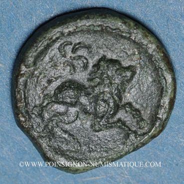 Monnaies Pictones (région de Poitiers)-Santones (région centre-ouest) - Vrido Ruf. Bronze (vers 50/25 av. J-C