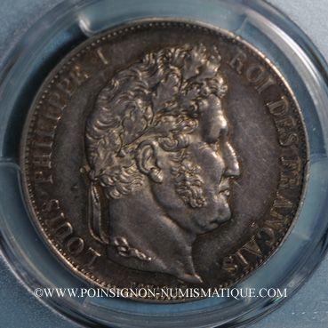 Monnaies Louis Philippe (1830-1848). 5 francs 1848A