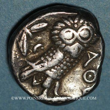 Monnaies Attique. Athènes. Tétradrachme, vers 255-229 av. J-C