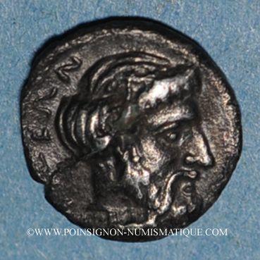 Monnaies Cilicie. Nagidos. Obole, vers 400-380 av. J-C