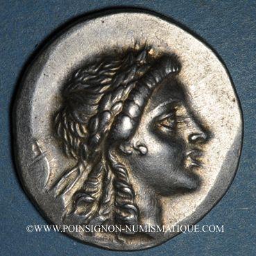 Monnaies Eolide. Myrhina (2e siècle av. J-C). Tétradrachme