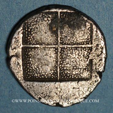 Monnaies Macédoine. Acanthe. Tétrobole, 424-380 av. J-C