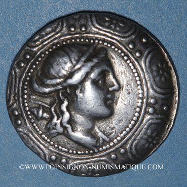 Monnaies Macédoine sous domination romaine (158-146 av. J-C). Tétradrachme