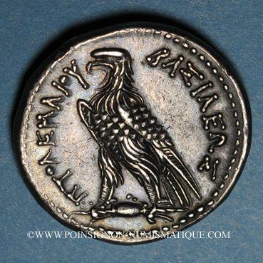 Monnaies Royaume d'Egypte. Ptolémée V Epiphane (204-180 av. J-C). Tétradrachme. Alexandrie